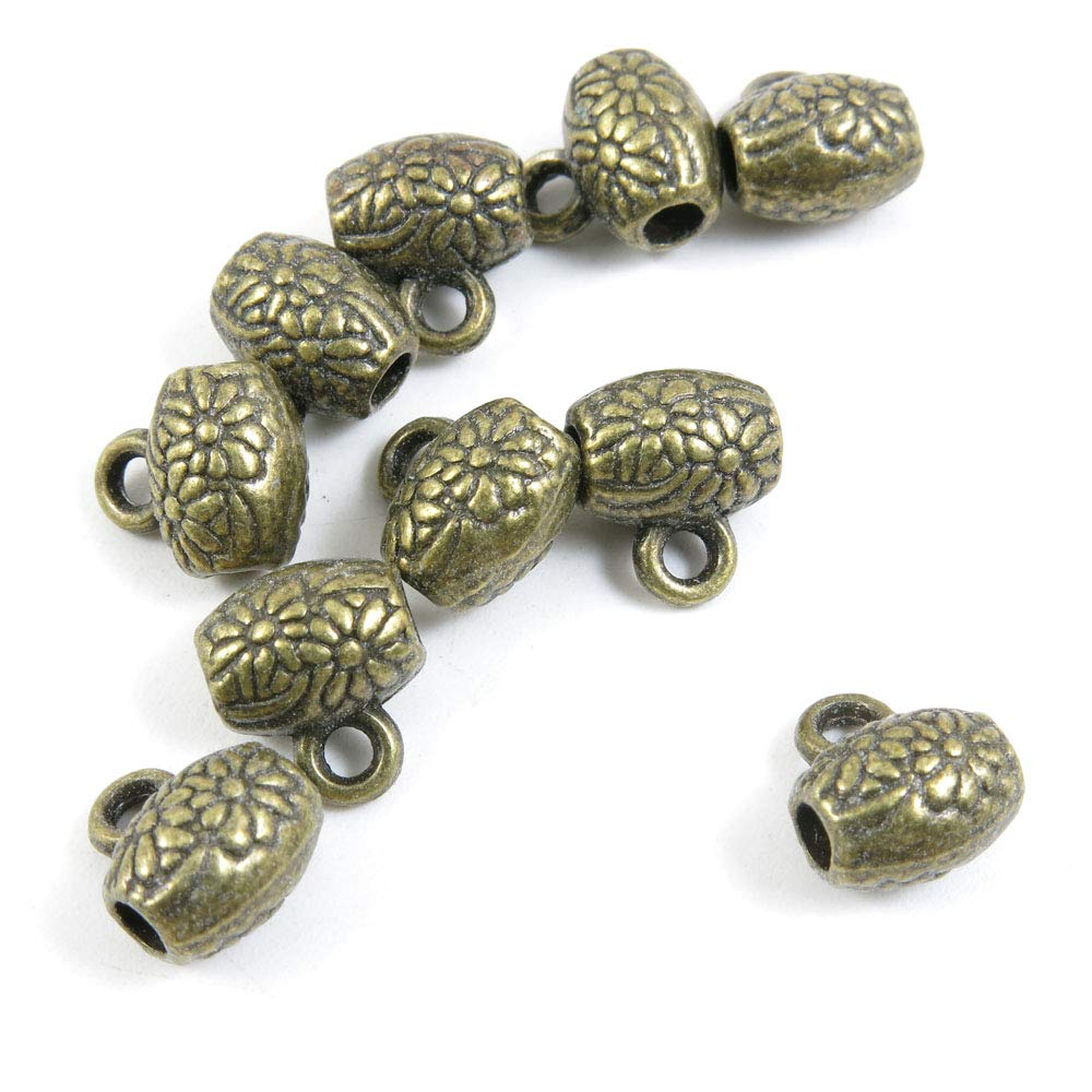 920 PCS Beading Jewelry Making Charms Finding Jewellery Charme Antique Bronze Plated Craft Crafting V4AF1 Daisy Bails Cord Ends