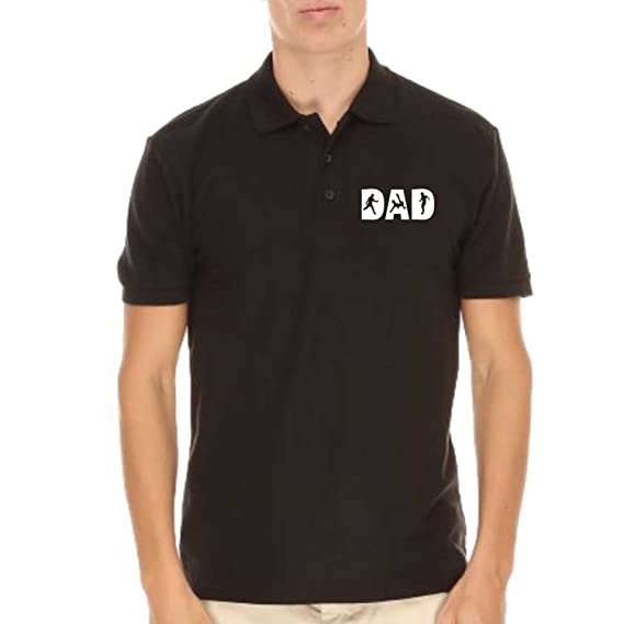 1a788a1e Giftsmate Gifts for Dad, Soccer Dad Mens Polo Cotton T-Shirt for Dad ...