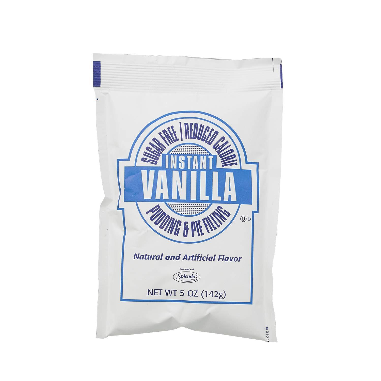Chef's Companion Sugar Free/Reduced Calorie Desserts Vanilla, 5 Ounce (Pack of 12) by Chef's Companion