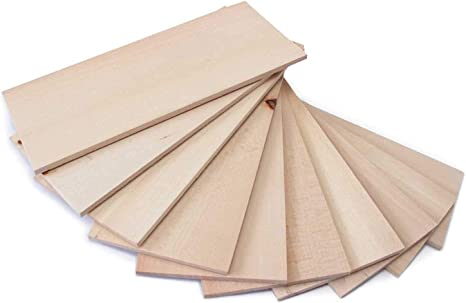4 Mm X 6mm X 590 mm Modelo Lumber Tilo arquitecto Madera 2 Piezas Artesanales Mw