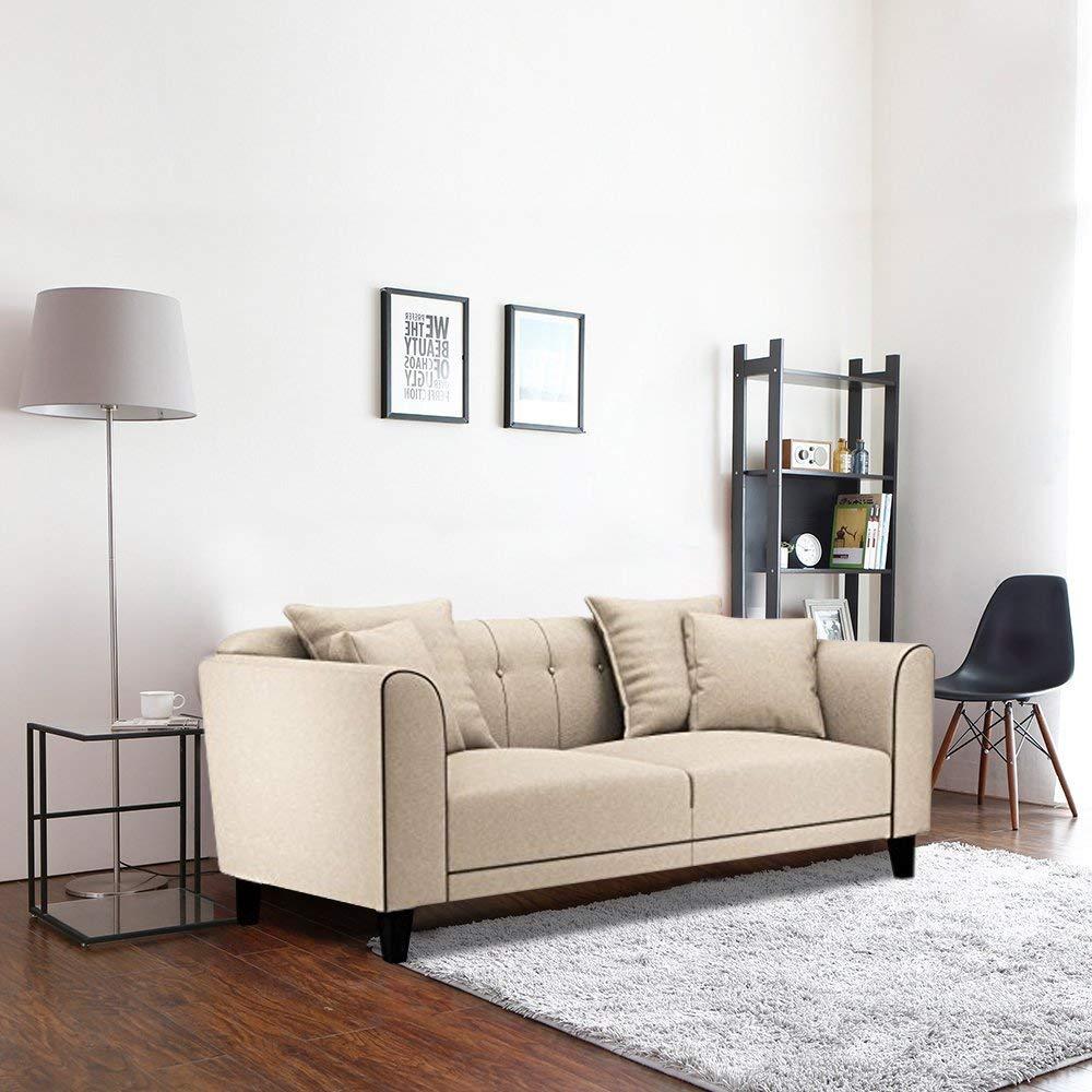 Furny Ferris Three Seater Sofa (Cream)
