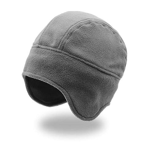 Amazon.com  DHmart Mens Winter Hats Ear Flaps Earflap Cap Men hat with Ears  Gorro ruso muts mutsen mannen Warm  Kitchen   Dining c11137ea7ac
