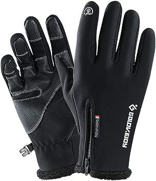 Touch Screen Outdoor Sport Gloves Men Women Warm Cycling Windproof Waterproof