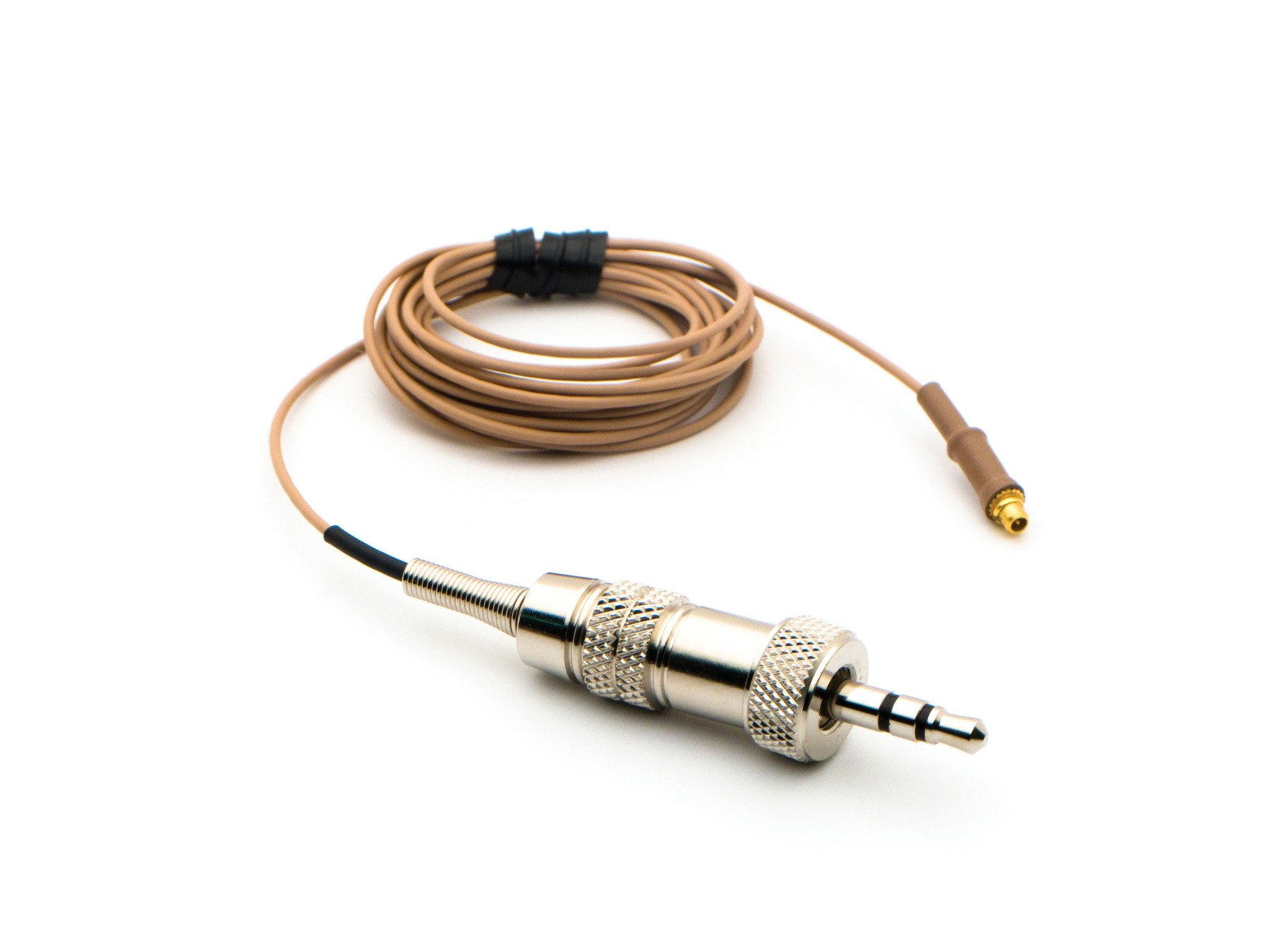 Countryman IsoMax E6 Replacement Cable for Sennheiser - Tan, 1mm Cable by Countryman