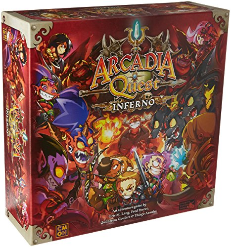 Cool Mini or Not Arcadia Quest Inferno Board ()