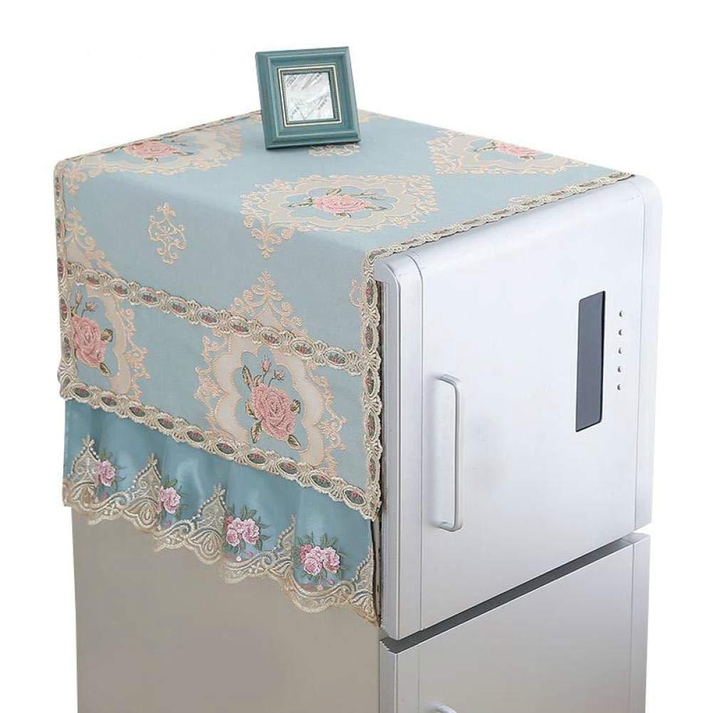 Runfon Type of Refrigerator Cover Cloth Dust-Proof Cover Refrigerator Towel Single Open Door to Double Open Door Refrigerator Cover