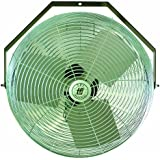 TPI Corporation U12-TE Industrial Workstation Fan, Mountable, Single Phase, 12 Diameter, 120 Volt