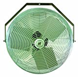 TPI Corporation U18-TE Industrial Workstation Fan – 120 Volt 360 Degree Horizontal, Vertical Swirl Air Circulator. Venting Exhaust Fans