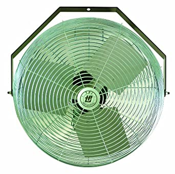 "TPI Corporation U12-TE Industrial Workstation Fan, Mountable, Single Phase, 12"" Diameter, 120 Volt"