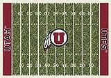 NCAA Home Field Rug - Utah Utes, 5'4'' x 7'8''