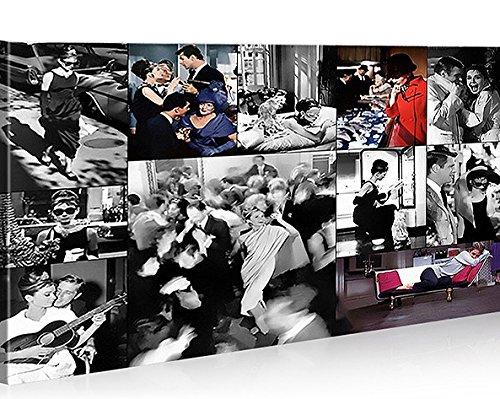 Quadro moderno Audrey Hepburn V7 Impresión sobre lienzo ...