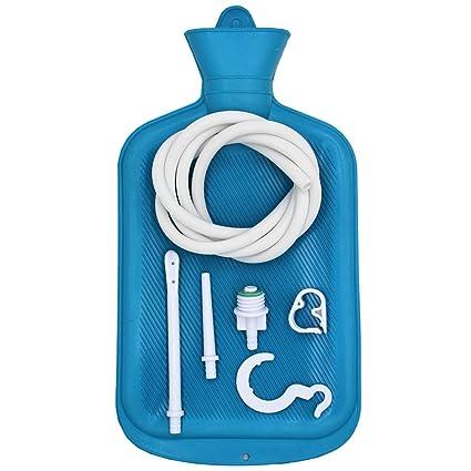 Douper Kit Di Sacchetti Di Clistere In Gomma Medica Per La Pulizia Del Colon Kit Di Cuscini Riutilizzabili Con Tubo Morbido Doccia Di Irrigazione Per