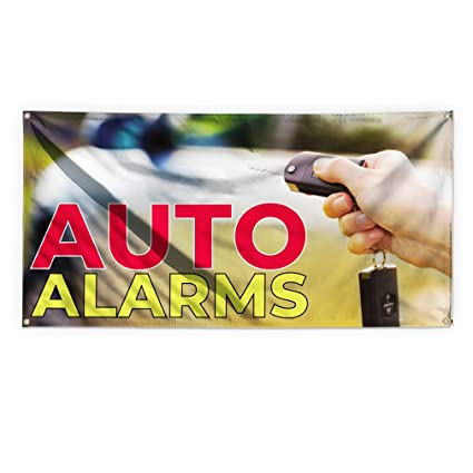 Amazon.com : Auto Alarmas #3 Outdoor Advertising Printing ...