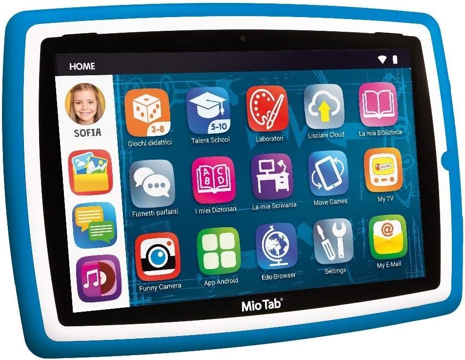 """Liscianigiochi-Mio Tab 10"""" Evolution STEM Coding 2020 Tablet per Bambini, Colore Blu, 83961"""