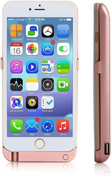Gran Capacidad (10000 mAh) para iPhone 6 Plus/6S Plus batería ...