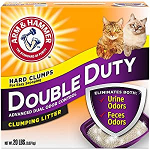 Arm & Hammer Double Duty Litter, 20 Lbs (Packaging May Vary)