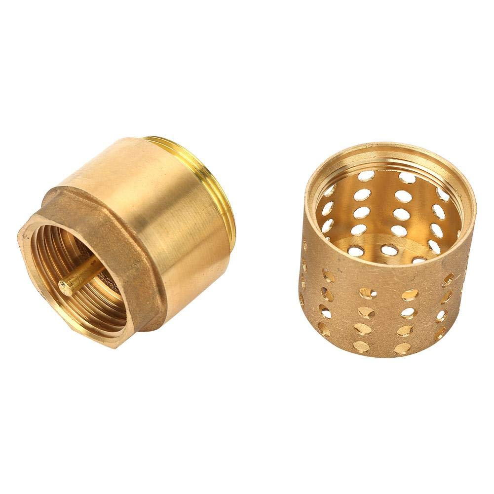 JIAIIO 3//4 Tee 3 Way F//F//F Threaded Pipe Fittings Stainless Steel SS 304 Female x Female x Female 57mm