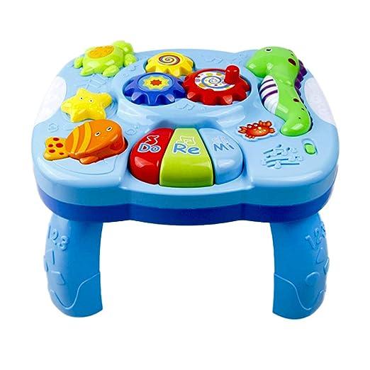 Yissma Mesa de Aprendizaje Musical para bebés, Juguetes ...