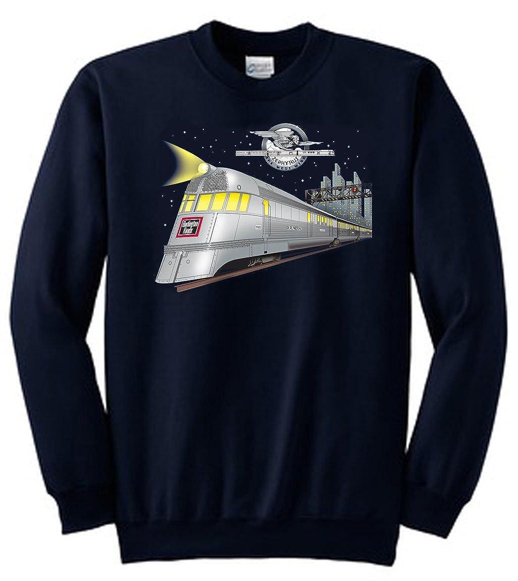 Pioneer Zephyr Authentic Railroad Sweatshirt [10133]