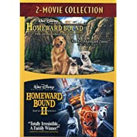 Homeward Bound 2-Movie Collection (Homeward Bound / Homeward Bound II: Lost in San Francisco) (Cover image may vary)