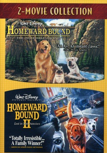 Homeward Bound - The Incredible Journey / Homeward Bound II - Lost In San Francisco (Best Disney Characters List)
