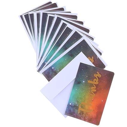12 Piezas Creativo Tarjeta De Bronceado Postales Para Carta