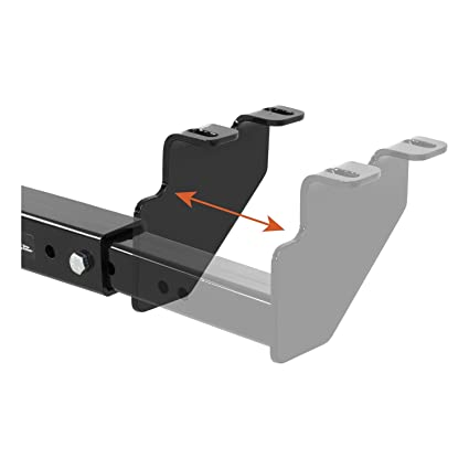 Adjustable Hitch Receiver >> Amazon Com Multi Fit Class 2 Hitch Adjustable Hitch Receiver 6 3 4