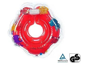 Baby Swimmer 0-24 Meses Infant Natación Flotador Inflable Anillo de Seguridad Inflable de Piscina Nadar (Rojo): Amazon.es: Juguetes y juegos