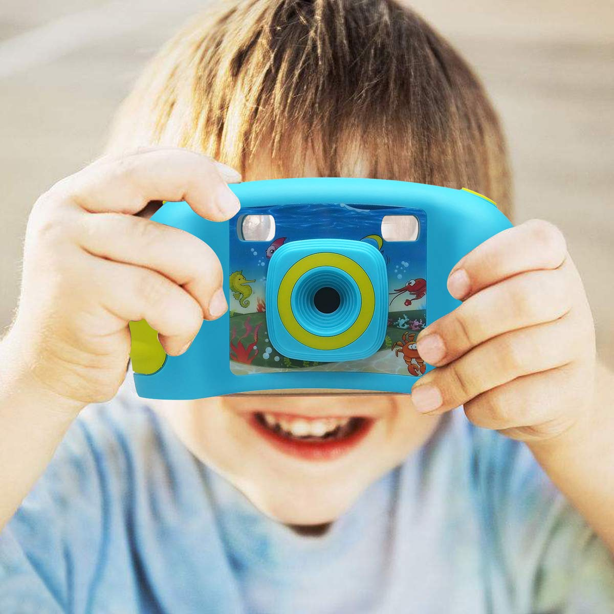 bouti1583 Digital Photo Video Cameras with Games 1.77'' LED Screen for Kids Toy by bouti1583 (Image #2)