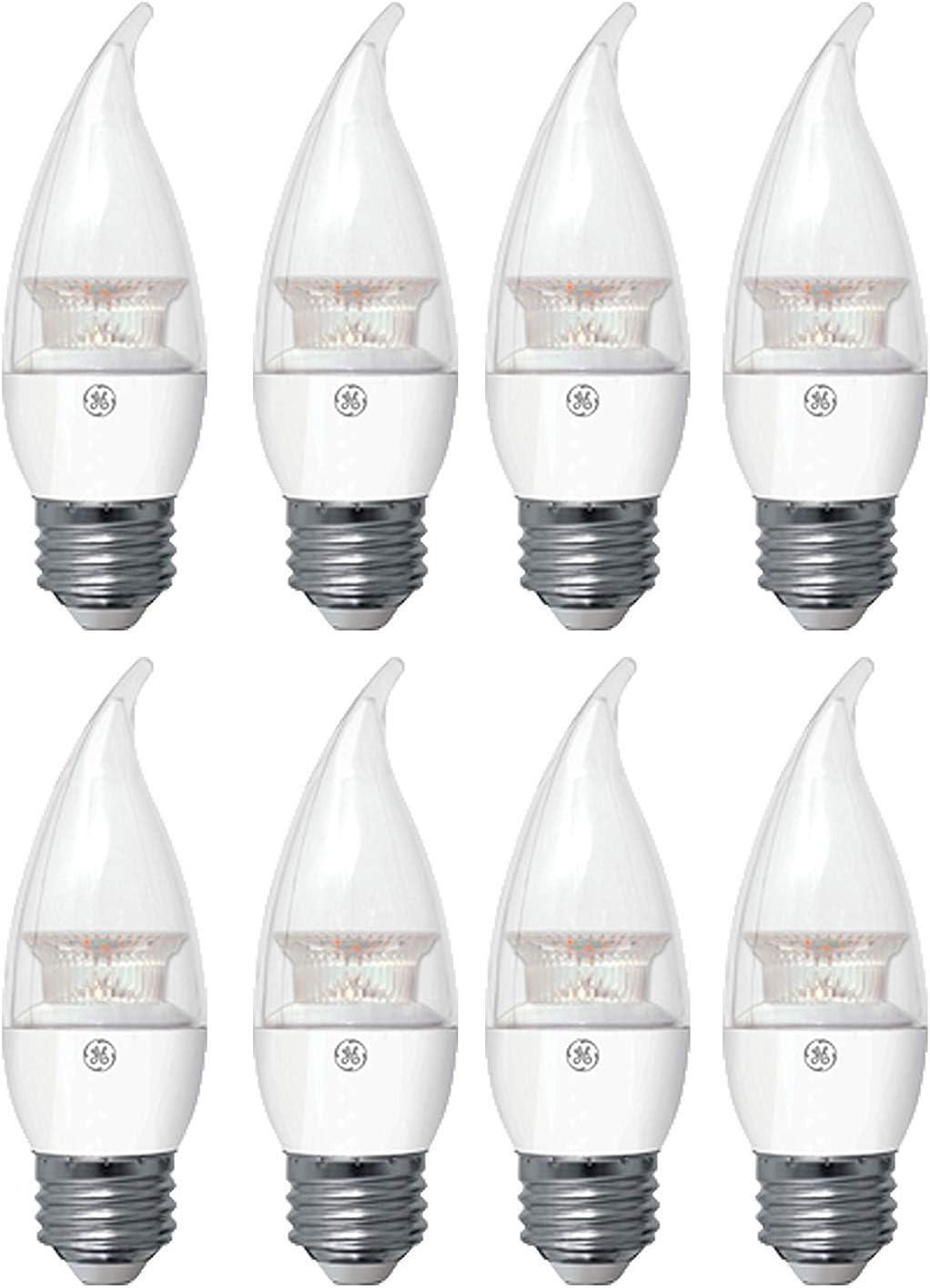 GE Lighting Refresh LED Dimmable Light Bulb (40 Watt, Medium Base, Daylight Bulb, Frosted Finish (8 Bulbs)