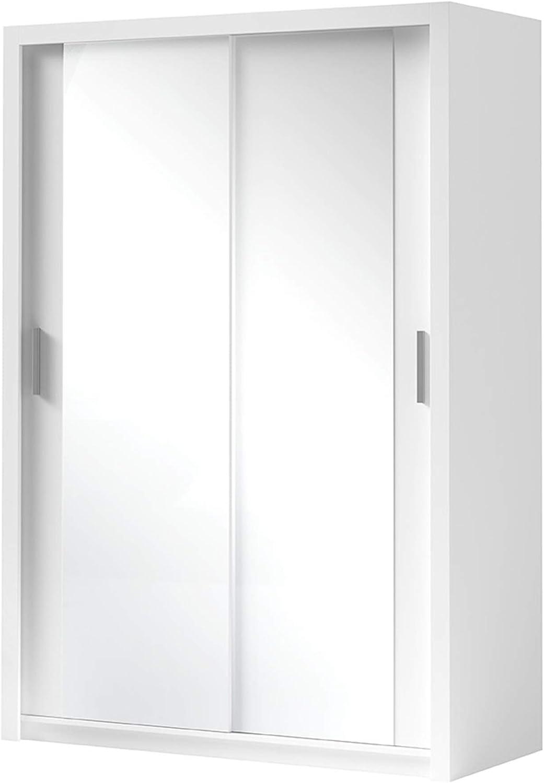 Kleiderschrank Bianco Elegante Und Modernes Schwebeturenschrank
