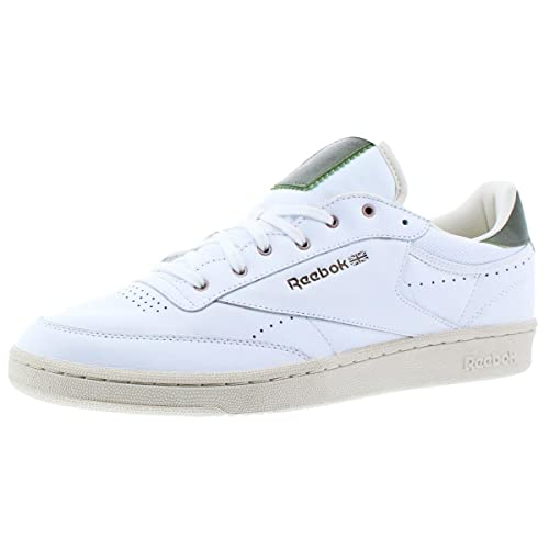 92fa015e60134 Reebok Men s Club C 85 Pl Classic Leather Sneakers White Green Copper 14  D(M) US  Buy Online at Low Prices in India - Amazon.in