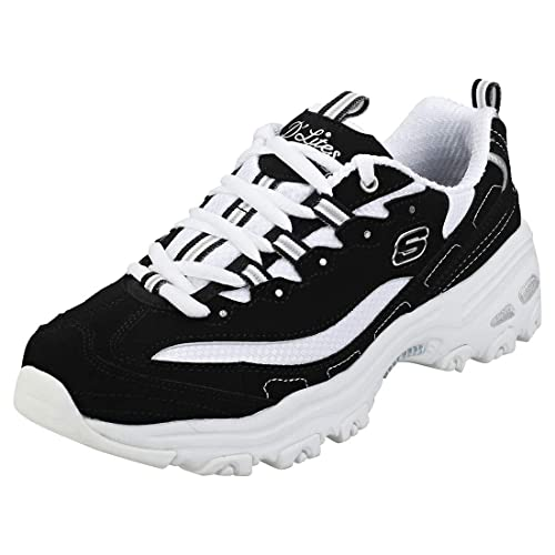Skechers D'Lites (White) Trainers Womens Lace up