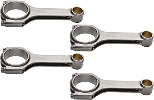 Eagle Specialty Products CRS6490F3D 6.490 4340 Forged H-Beam Connecting Rod Set for Ford