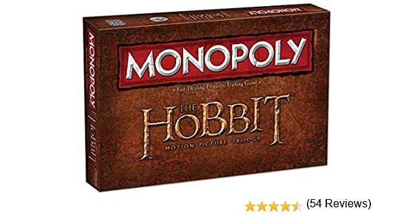 Monopoly: The Hobbit Trilogy Edition: USAopoly: Amazon.es: Juguetes y juegos