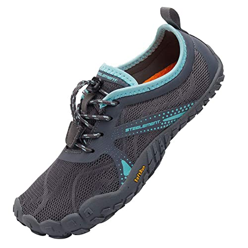 Steelement Womes Barefoot Sports Running Sneakers Minimalist Shoes Zero Drop Outdoor Swim Water Shoes 6 Us 98 Grey 37 Buy Online At Low Prices In India Amazon In