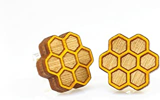 product image for Honeycomb Stud Earrings