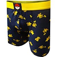 Underboss Men's Pokemon Pikachu Boxer Briefs