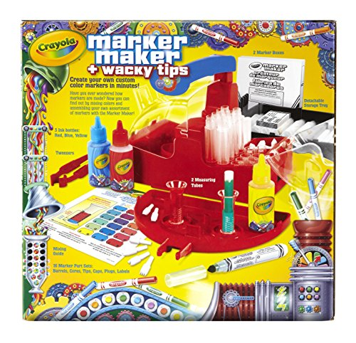 Crayola Marker Maker Wacky Tips - coolthings.us