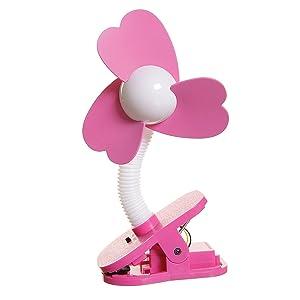 Dreambaby Stroller Fan (Pink)