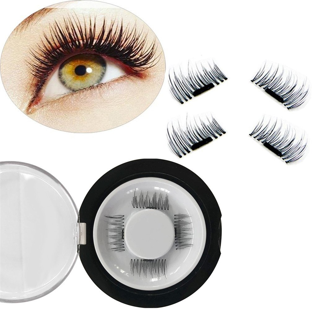 Amazon Magnetic Eyelashes Reusable False Eye Lash Natural