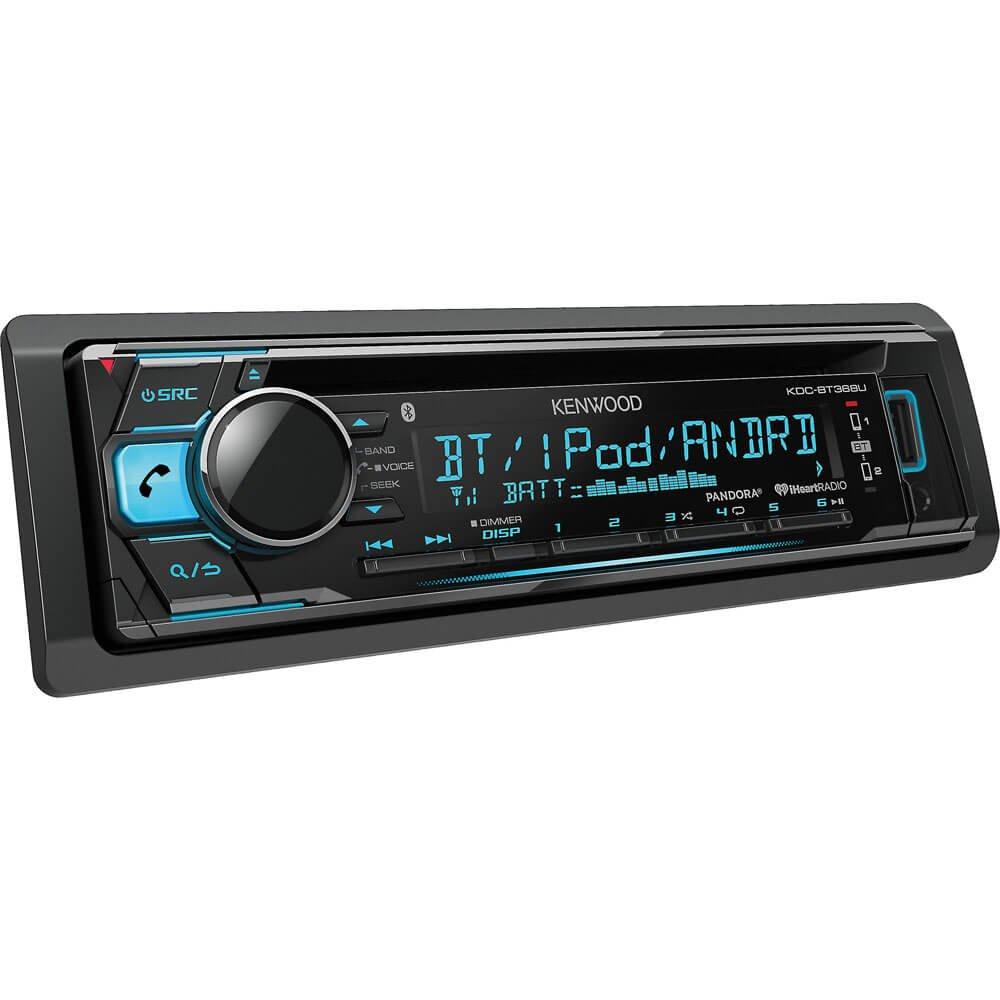 Kenwood Kdc Bt368u In Dash Cd Receiver With Built 300 Player Wiring Diagram Bluetooth Kdcbt368u Car Electronics