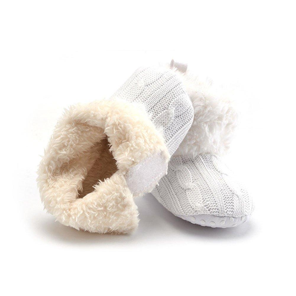 Meijunter Winter Baby Shoes Boy Girl Newborn Anti-Slip First Walking 0-24 Months
