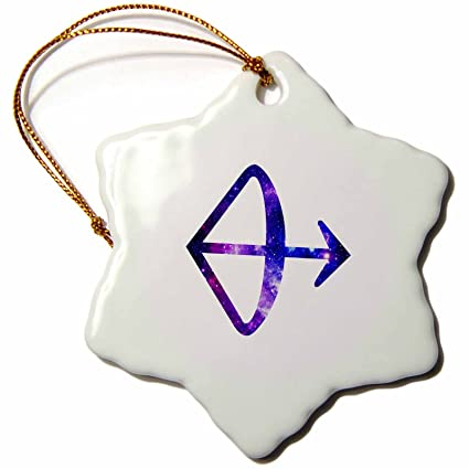 Amazon 3drose Sagittarius Bow And Arrow Horoscope Symbol