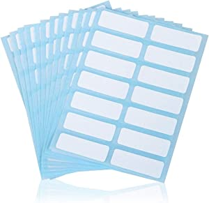File Folder Labels Name Filing Envelopes Label Stickers, 0.5 x 1.5 in, Small Label Nametags for Jars, Bottles, Food Containers, File Folders (2 Pack)