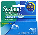 Best Bausch & Lomb Lubricants - Systane Nighttime Lubricant Eye Ointment-0.123 oz, 3.5g Review