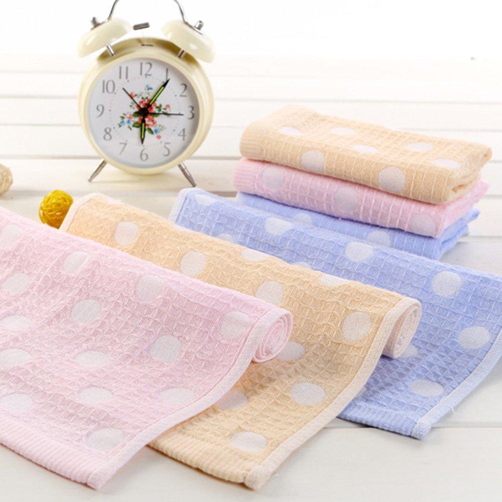 Frcolor Asciugamani per la pulizia del viso 3 pezzi, Asciugamano per il trucco di bellezza Pulisce la pelle con un morbido asciugamano doppio strato