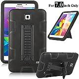 Galaxy Tab 4 7.0 Case, Magicsky 3in1 Heavy Duty Hybrid Shockproof Armor Kickstand Case for Samsung Galaxy Tab 4 7.0 T230…