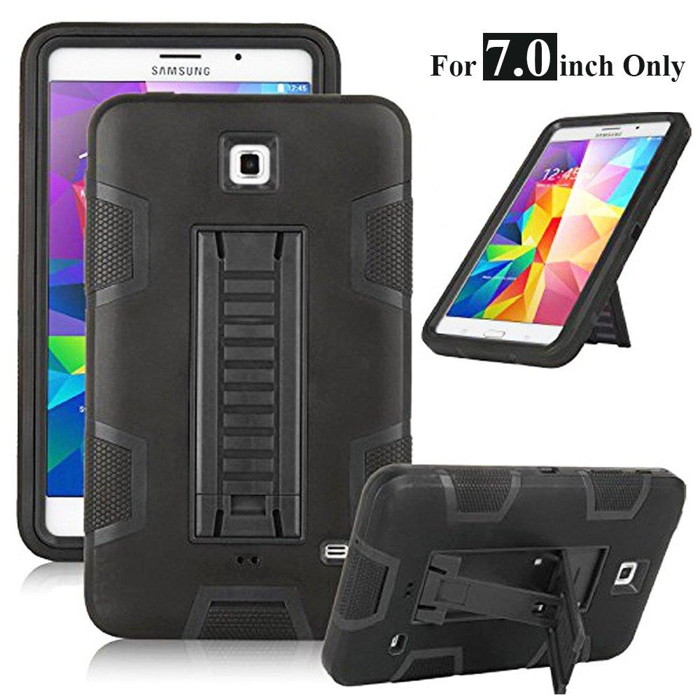 2019特集 Galaxy Tab 4 Galaxy Tab、7.0 インチ用ケース、MagicSky 3イン1 B00XC4123K 高剛性ハイブリッド耐衝撃保護ケース キックスタンド付きケース Samsung Galaxy Tab 4 7.0インチ T230/T231/T235/Galaxy Tab 4/ Nook 用カバー 21-11026-006 ブラック/ブラック B00XC4123K, TOKYO ART FILE:db4a184b --- a0267596.xsph.ru