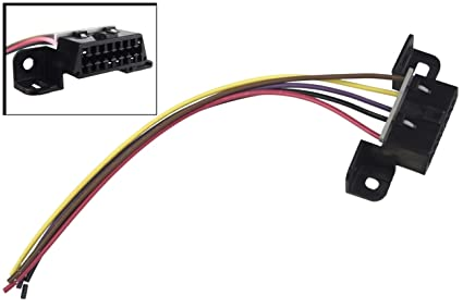 amazon com obd2 dash port wire pigtail connector plug in, 551256 1999 Dodge Ram Factory Parts image unavailable